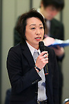 Seiko Hashimoto, March 26, 2014 : a conference held by directors of Tokyo Organizing Committee of the Olympic and Paralympic Games <br /> in Tokyo, Japan. (Photo by Yohei Osada/AFLO SPORT)