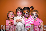 LIPSTICK, POWDER & PAINT: Lily O'Sullivan, Aleshia McQuinn, Shannon Oba and Amy Johnston loved having their faces painted during the KDYS Let's Be Friends summer camp this week..