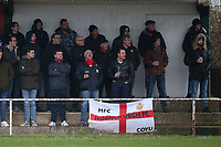 Hornchurch fans during Hornchurch vs Merstham, BetVictor League Premier Division Football at Hornchurch Stadium on 15th February 2020