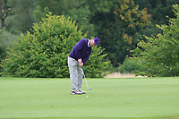 Dermot Fennelly (Mount Juliet) on the 14th green during the Final of the Irish Mixed Foursomes Leinster Final at Millicent Golf Club, Clane, Co. Kildare. 06/08/2017<br /> Picture: Golffile | Thos Caffrey<br /> <br /> <br /> All photo usage must carry mandatory copyright credit     (&copy; Golffile | Thos Caffrey)
