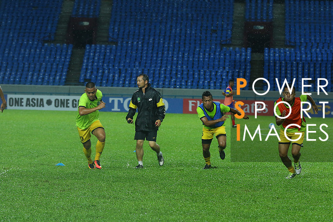 Pre-Match Training prior to the AFC Solidarity Cup Malaysia 2016 Group A match between Brunei Darussalam and Timor Leste at Sarawak Stadium on 02 November 2016, in Kuching, Malaysia. Photo by Simon Yap / Lagardere Sports