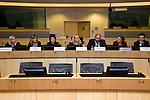 "BRUSSELS - BELGIUM - 15 November 2012 -- European Training Foundation (ETF) conference on - Towards excellence in entrepreneurship and enterprise skills. -- Good Practice Marathon II - Finland: Elina Oksanen-Ylikoski, InnoOmnia; France: Claire Saddy, Tipi Formation; Tajikistan: Firuza Nabieva, MLO 'IMON International"", LLC; Chair: Olena Bekh, Specialist in Entrepreneurship and Enterprise Skills, ETF; Armenia: Varazdat Karapetyan, SME DNC; Italy: Alessia Cicuto, New Institute for International Business (NIBI); Serbia: Aleksandar Jovanovi, Regional Chamber of Commerce & Industry, Valjevo. -- PHOTO: Juha ROININEN /  EUP-IMAGES."
