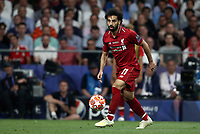 Liverpopol's Mohamed Salah in action during the UEFA Champions League final football match between Tottenham Hotspur and Liverpool at Madrid's Wanda Metropolitano Stadium, Spain, June 1, 2019.<br /> UPDATE IMAGES PRESS/Isabella Bonotto