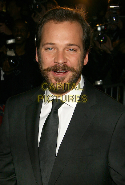 "PETER SARSGAARD.NY Premiere of ""Jarhead"", Ziegfeld Theatre, NYC.October 30th, 2005.Photo: Jackson Lee/Admedia/Capital Pictures.Ref: JL/ADM.headshot portrait beard facial hair.www.capitalpictures.com.sales@capitalpictures.com.© Capital Pictures."