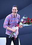 Jim Parsons during the Broadway Opening Night curtain call for 'An Act of God'  at Studio 54 on May 28, 2015 in New York City.