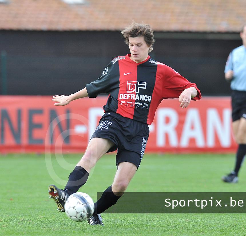 Winkel Sport : Arne Devisch.foto VDB / BART VANDENBROUCKE