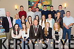 International Children's Games: Mayor of Tralee Jim Finucane presented  Certificates to The Tralee team at went  to  the International Children's Games in Lake Macquarie in 2014 at a Dinner Gala in Ballyroe Heights Hotel on Friday