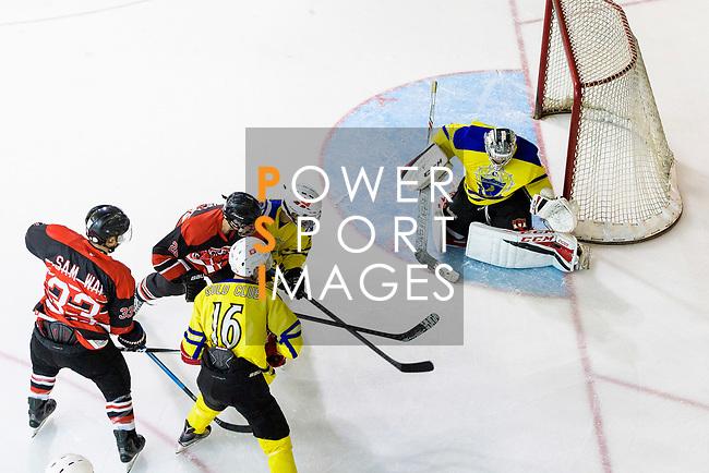 Gold Club and HK Samwai Raptors during the Mega Ice Hockey 5s Asian A Final match on May 05, 2018 in Hong Kong, Hong Kong. Photo by Marcio Rodrigo Machado / Power Sport Images