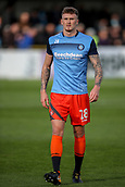 5th November 2017, Damson Park, Solihull, England; FA Cup first round, Solihull Moors versus Wycombe Wanderers; Dan Scarr of Wycombe Wanderers walks off the pitch after warming up prior to the game
