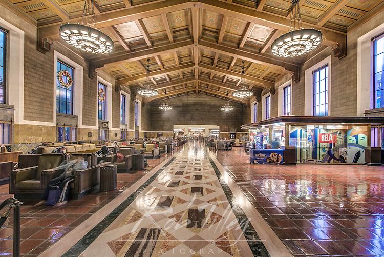 USA, CA, Los Angeles, Union Station