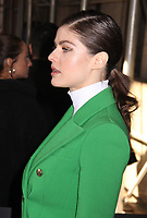 NEW YORK, NY - FEBRUARY 12: Alexandra Daddario at Michael Kors Fashion Show during New York Fashion Week 2020 in New York City on February 12, 2020. <br /> CAP/MPI/EN<br /> ©EN/MPI/Capital Pictures