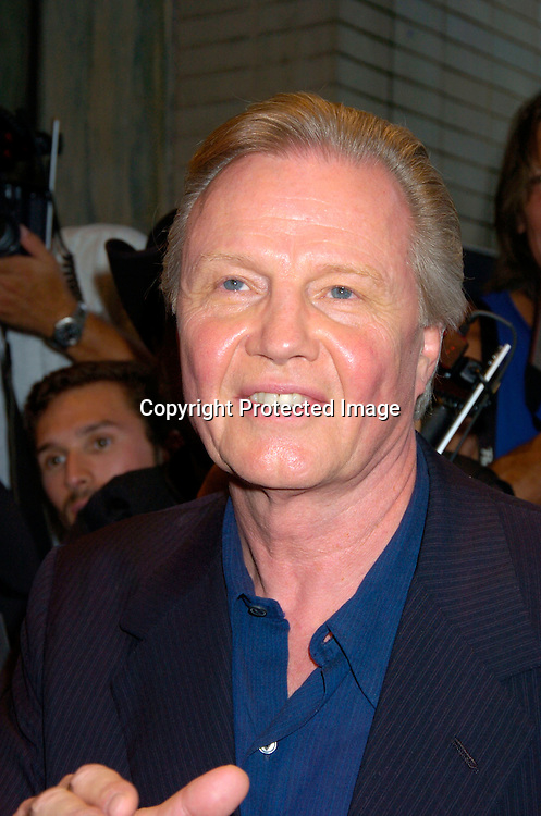 "Jon Voight..at the World Premiere of ""The Manchurian Candidate"" ..on July 19, 2004 at the Clearview Cinema's Beekman ..Theatre. Photo by Robin Platzer, Twin Images"