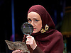 Grey Gardens<br /> Book by Doug Wright<br /> Music by Scott Frankel<br /> Lyrics by Michael Korie<br /> produced by Danielle Tarento<br /> at The Southwark Playhouse, London, Great Britain <br /> press photocall<br /> 7th January 2016 <br /> <br /> directed by Thom Southerland<br /> <br /> <br /> Jenna Russell as 'Little' Edie Beale<br /> <br /> <br /> <br /> Photograph by Elliott Franks <br /> Image licensed to Elliott Franks Photography Services