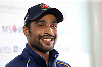 New Essex signing Mohammad Amir speaks at a Press Conference during Essex CCC vs Warwickshire CCC, Specsavers County Championship Division 1 Cricket at The Cloudfm County Ground on 22nd June 2017