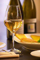 The Lavinia wine bar and restaurant in Paris with cheese and wine Paris, France.