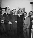 Iran 1953  <br />From left to right, Mohammed Reshad Assef, Ali Ashraf Sanandadji,Ali Reza Sanandadji, Mohammed Said Assef Vaziri, Ali Ashgar Sanandadji and ?<br />Iran 1953<br />De gauche a droite, Mohammed Reshad Assef, Ali Ashraf Sanandadji, Ali Reza Sanandadji, Mohammed Said Assef Vaziri, Ali Ashgar Sanandadji and ?