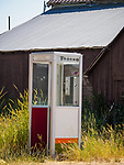 Telephone booth, Hill City, Idaho.
