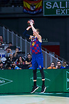 Victor Claver during Real Madrid vs FC Barcelona final of Supercopa Endesa. September 22, 2019. (ALTERPHOTOS/Francis González)