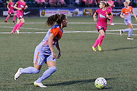 Rochester, NY - Saturday Aug. 27, 2016: Andressa Machry during a regular season National Women's Soccer League (NWSL) match between the Western New York Flash and the Houston Dash at Rochester Rhinos Stadium.