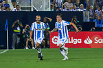 Leganes' players celebrate goal during La Liga match. August 24, 2018. (ALTERPHOTOS/A. Perez Meca)