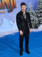 """LOS ANGELES, USA. December 10, 2019: Nick Jonas at the world premiere of """"Jumanji: The Next Level"""" at the TCL Chinese Theatre.<br /> Picture: Paul Smith/Featureflash"""