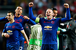Wayne Rooney of Manchester United celebrates after the UEFA Europa League Final match at the Friends Arena, Stockholm. Picture date: May 24th, 2017.Picture credit should read: Matt McNulty/Sportimage