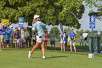 Danielle Kang (USA) watches her tee shot on 8 during round 4 of the 2018 KPMG Women's PGA Championship, Kemper Lakes Golf Club, at Kildeer, Illinois, USA. 7/1/2018.<br /> Picture: Golffile | Ken Murray<br /> <br /> All photo usage must carry mandatory copyright credit (&copy; Golffile | Ken Murray)