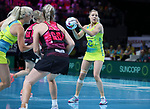 29/10/17 Fast5 2017<br /> Fast 5 Netball World Series<br /> Hisense Arena Melbourne<br /> Australia v New Zealand<br /> Kate Moloney<br /> <br /> <br /> Photo: Grant Treeby