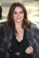Courtney Green<br /> arriving for the TRIC Christmas Party, Grosvenor House Hotel, London.<br /> <br /> <br /> &copy;Ash Knotek  D3362  12/12/2017