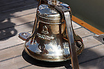 A bell made by the McShane Bell Foundry on the Pride of the Baltimore Ship, Baltimore, Maryland