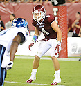 Temple Owls Justin Gildea (4) in action during a game against the Villanova Wildcats on August 31, 2012 at Lincoln Financial Field in Philadelphia, PA. Temple beat Villanova 41-10.