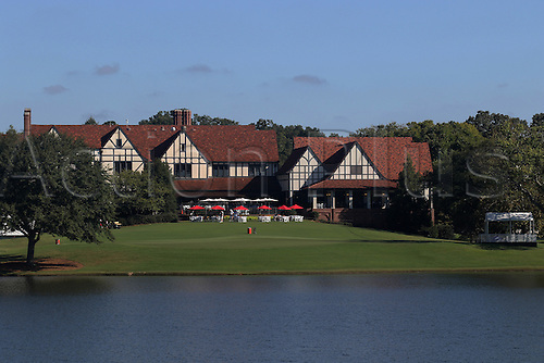 23.09.2016. Atlanta, Georgia, USA.  A general view of the clubhouse at the second round of the 2016 PGA Tour Championship at East Lake Golf Club in Atlanta, Georgia.