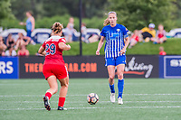 Boston, MA - Saturday July 01, 2017: Julie King during a regular season National Women's Soccer League (NWSL) match between the Boston Breakers and the Washington Spirit at Jordan Field.