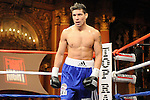 Bronx, NY, Dec. 6th, 2007: Sergio Martinez (in the ring  during his10 Rounds Jr. Middleweights fight against Russell Jordan at the Utopia Paradise Theater. Martinez won by 4th round TKO. Photo by Thierry Gourjon.