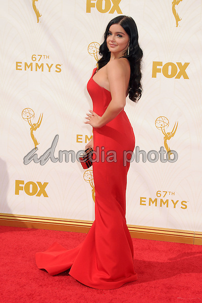 20 September 2015 - Los Angeles, California - Ariel Winter. 67th Annual Primetime Emmy Awards - Arrivals held at Microsoft Theater. Photo Credit: Byron Purvis/AdMedia
