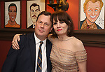 Brooks Ashmanskas and Beth Leavel during the Beth Leavel Portrait unveiling at Sardi's on 3/26/2019 in New York City.