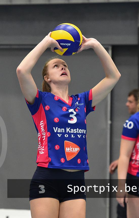 Dames VC OUDEGEM :<br /> Lara Nagels<br /> <br /> Foto VDB / Bart Vandenbroucke