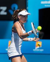Agnieszka Radwanska (POL)<br /> <br /> Tennis - Australian Open 2015 - Grand Slam -  Melbourne Park - Melbourne - Victoria - Australia  - 24 January 2015. <br /> &copy; AMN IMAGES