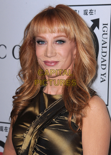 BEVERLY HILLS, CA - NOVEMBER 3:  Kathy Griffin at the Equality Now &quot;Make Equality Reality&quot; Event at the Montage Hotel on November 3, 2014 in Beverly Hills, California.  <br /> CAP/MPI/PGSK<br /> &copy;PGSK/MediaPunch/Capital Pictures