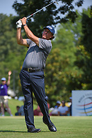 Phil Mickelson (USA) watches his tee shot on 8 during round 3 of the WGC FedEx St. Jude Invitational, TPC Southwind, Memphis, Tennessee, USA. 7/27/2019.<br /> Picture Ken Murray / Golffile.ie<br /> <br /> All photo usage must carry mandatory copyright credit (© Golffile | Ken Murray)
