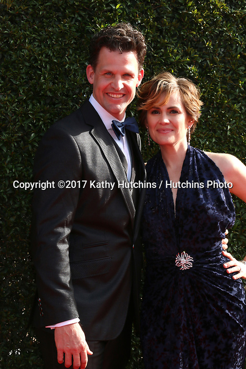 LOS ANGELES - APR 28:  Matt Aldag, Natalia Livingston at the 2017 Creative Daytime Emmy Awards at the Pasadena Civic Auditorium on April 28, 2017 in Pasadena, CA