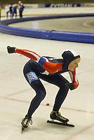 SCHAATSEN: HEERENVEEN: IJsstadion Thialf, 13-03-2004, VikingRace, Ida Njåtun (NOR), ©foto Martin de Jong