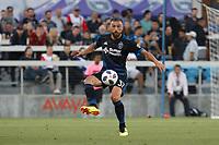 San Jose, CA - Saturday July 28, 2018: Guram Kashia during a Major League Soccer (MLS) match between the San Jose Earthquakes and Real Salt Lake at Avaya Stadium.