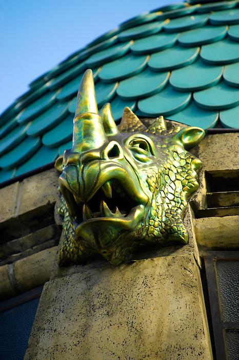 The art nouveau Elephant house at the Budapest Zoo & Botanical Garden (F?városi Állat- és Növénykert) Hungary