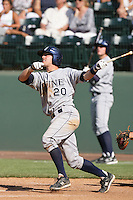 June 5, 2010: Francis Larson of UC Irvine during NCAA Regional game against Kent State at Jackie Robinson Stadium in Los Angeles,CA.  Photo by Larry Goren/Four Seam Images