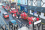 ListoweL Parade : The santa Claus parade about to enter the Square in Listowel on Sunday last.