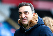 17th March 2018, Liberty Stadium, Swansea, Wales; FA Cup football, quarter-final, Swansea City versus Tottenham Hotspur; Carlos Carvalhal, Manager of Swansea City