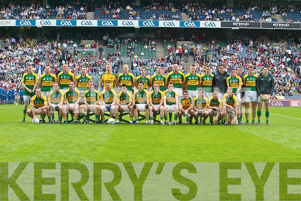 Kerry Team, Kerry v Monaghan, All-Ireland Senior Football Championship Qualifier, Round 3, Croke Park, Dublin. 3 August 2008.   Copyright Kerry's Eye 2008