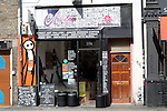 Art gallery cafe Brick Lane London