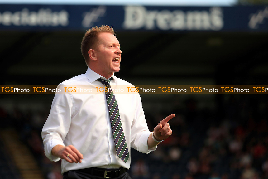 Wycombe Wanderers Manager, Gary Waddock - Wycombe Wanderers vs Cheltenham Town - NPower League Two Football at Adams Park, High Wycombe - 08/09/12 - MANDATORY CREDIT: Paul Dennis/TGSPHOTO - Self billing applies where appropriate - 0845 094 6026 - contact@tgsphoto.co.uk - NO UNPAID USE.